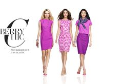 Love the outfit on the right.  That's my chic.  Get styled in Ann Taylor's latest Must-Have Looks: a Berry Chic #AnnTaylor