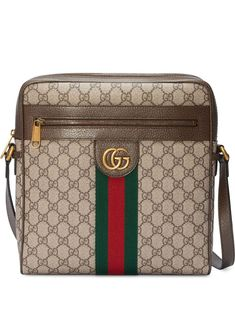 Get the trendiest Cross Body Bag of the season! The Gucci Ophidia Gg Supreme Small Brown Canvas Cross Body Bag is a top 10 member favorite on Tradesy. Gucci Messenger Bags, Gucci Crossbody Bag, Small Messenger Bag, Logo Vintage, Gucci Handbags, Gucci Bags, Luxury Handbags, Online Bags, Purses