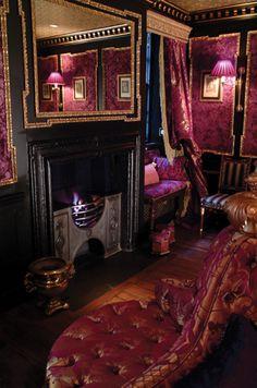Witchery By The Castle Edinburgh, Edinburgh (United Kingdom) Edinburgh Hotels, Edinburgh Castle, Edinburgh Scotland, Scotland Trip, Maximalist Interior, Bohemian Bedroom Design, Interior And Exterior, Interior Design, Beautiful Places