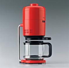Leckeren Kaffee brüht das Teil natürlich auch. Der dafür vorgesehene Behälter...