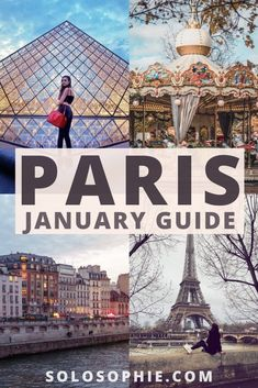 Paris in January: Where to Go, What to See & All the Eats. Best things to do in Paris France in the mid winter in Europe