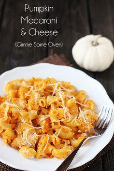 Pumpkin Macaroni & Cheese | Gimme Some Oven