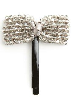 BP. Beaded Bow Hair Pin (Juniors) | Nordstrom