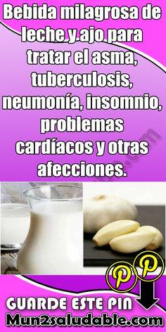 Bebida milagrosa de leche y ajo para tratar el asma, tuberculosis, neumonía, insomnio, problemas cardíacos y otras afecciones. #Salud #Bebida #Ajo #Tratamiento #asma #tuberculosis #neumonía #insomnio #problemascardíacos #lecheyajo