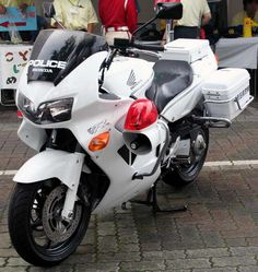 Police Motorcycle Japan