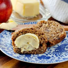 Date and Apple Honey Bran Muffins   That's Some Good Cookin'