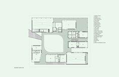 In Progress: Pomona College Studio Art Hall / wHY Architecture Why Architecture, Pomona College, School Plan, Art Studios, Second Floor, Studio Art, Floor Plans, Flooring, How To Plan