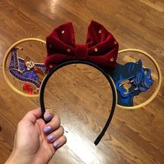 Disney Ears Headband, Diy Disney Ears, Disney Headbands, Disney Mickey Ears, Disney Bows, Disney Nerd, Ear Headbands, Disney Diy, Disney Crafts