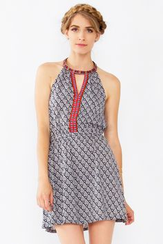 Ria Halter Dress