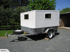 Cargo Trailer Camper, Slide In Camper, Trailer Diy, Trailer Build, Mini Camper, Off Road Camper, Utility Trailer, Cargo Trailers, Camper Van