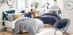 Sleep on cloud nine! Our Cloud Comforter and Sham are woven from organic cotton jersey for a supremely soft feel. A ribbed texture gives them cuddle-worthy plushness. Designed in collaboration with west elm. west elm x pbdorm Cloud Comforter & Sham | Pottery Barn Teen Pb Dorm, Dorm Room, Creative Inspiration, Room Inspiration, Faux Headboard, Dorm Shopping, Led Shop Lights, C Table, Pottery Barn Teen