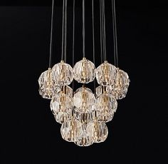 Image result for cluster chandeliers