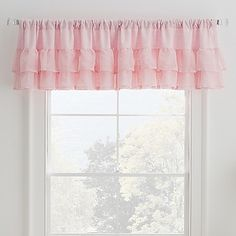 Give your child's bedroom cute and casual style with the Malta Window Valance. Ideal for kids and preteens, this valance will complete their window display whether it's hung as a standalone piece or layered with curtain panels (sold separately).