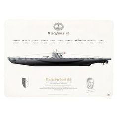 GERMAN NAVY . KRIEGSMARINE (WW2)Unterseeboot 82 Type VIIc U-Boot, 3.U-Flottille. Feldpostnummer: M 40 885Werft: Vulkan Vegesack Werft, Bremen