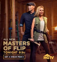 HGTV flippers take on the challenge of transforming each real estate disaster into a stunning family dream home. #MastersOfFlip