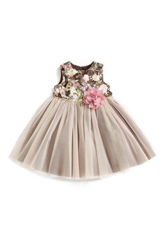 Laura Ashley Laura Ashely Tapestry Print Tutu Dress (Baby Girls) available at Little Dresses, Little Girl Dresses, Girls Dresses, Flower Girl Dresses, Fashion Kids, Little Girl Fashion, Girls Summer Outfits, Kids Outfits, Toddler Dress