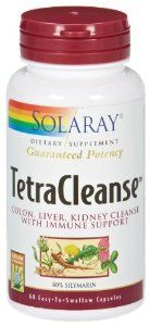 Solaray - Tetra Cleanse, 60 capsules by Solaray. $7.17. Serving Size - 4 capsules. Liver, intestinal, blood and urine cleansing and purification formula.
