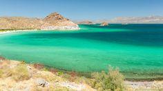 Playa El Coyote, Bahía Concepción. Pic: Alexandre Patrier on Flickr | Baja California Sur, Mar de Cortez, Mexico