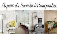 Casa Sem Rótulos, como usar estampas na decoração, estampas, combinar estampas, papéis de parede estampados, papel de parede