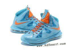 Nike Lebron 10 Shoes Jade Red Hot