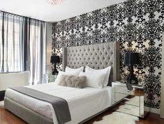 Coole neue tapeten farben ideen teil bilder schlafzimmer
