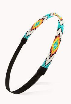 New West Beaded Headband | FOREVER21 - 1000107993  $6.80