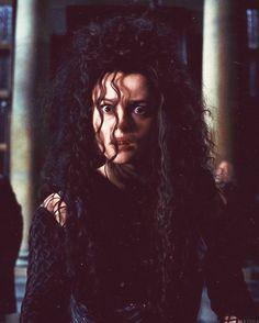 Helena Bonham Carter as Bellatrix Lestrange (who else can it be, honestly)
