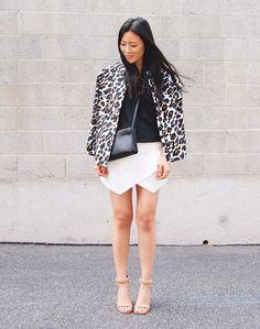 5e937165 19 Best white zara skorts images | White skort, Fashion styles ...