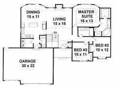House Plan chp-19516 at COOLhouseplans.com