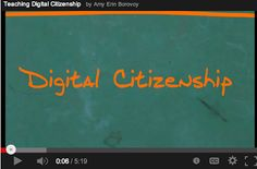 5 Excellent Videos to Teach Your Students about Digital Citizenship ~ Educational Technology and Mobile Learning