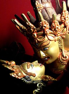 Vajrayogini & Chakrasamvara ~ Gentle & Wild