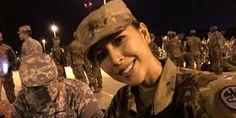 Wanita cantik kelahiran Manado, Sulawesi Utara, mantan Miss Indonesia ini menjadi tentara angkatan daratan amerika.