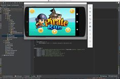 Pirates Adventures is a addictive game with a simple gameplay and HD graphics , build on android studio