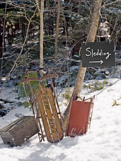 Plan A Winter Sledding Party