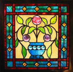 Easy Stained Glass Windows | Recent Photos The Commons Getty Collection Galleries World Map App ...