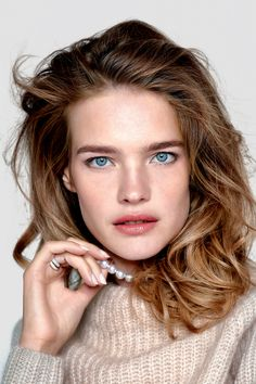 """Natalia Vodianova in """"Faces of Love"""" by Pamela Hanson for Vogue Russia, February 2015"""