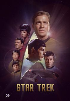 """Star Trek"" (1966 - 1969).  It's been 50 FANTASTIC years since the 'Enterprise' set off on its famed five year mission!  Thanks to Mr. Gene Roddenberry and his impeccably cast crew for an incredible ride ""where no man has gone before!"""
