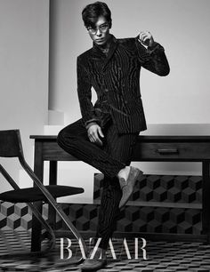 TOP (Choi Seung Hyun) ♕ #BIGBANG // Harper's Bazaar Magazine September Issue '14