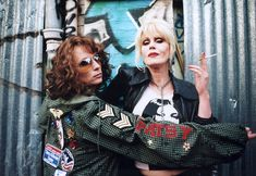In case this New Year had you binging on Jennifer Saunders' Absolutely Fabulous to remind yourself that, no matter how quickly you break your resolutions, you'll never be as self-destructive (or as...