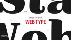 An awesome preso on the State of Web Typography from Bram Stein, that I saw at CSS Conf Berlin 2014  http://stateofwebtype.com/
