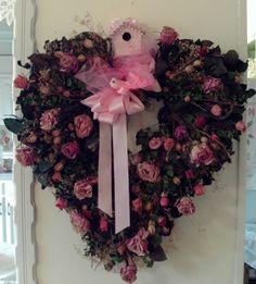 Vintage Valentine Wreath...Beautiful Inspiration