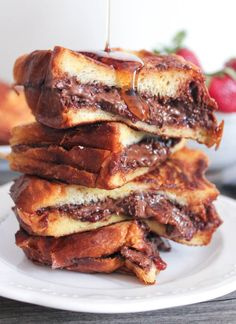 bacon stuffed french toast nutella and bacon stuffed french toast life ...
