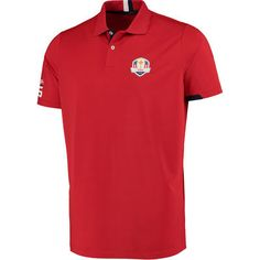 3077b5263 Men s RLX Red 2016 Ryder Cup Friday Active-Fit Polo