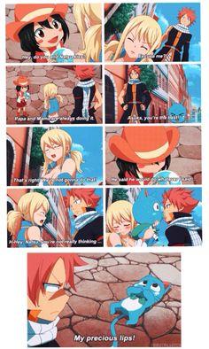 Hahahahaha poor happy 【episode 219】