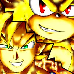 78 Best Dragon Ball Z And Sonic Images Drawings Hedgehogs Silver