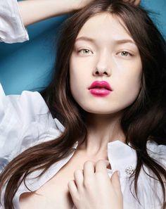 Publication: Vogue China April 2015 Model: Yumi Lambert Photographer: Liz Collins