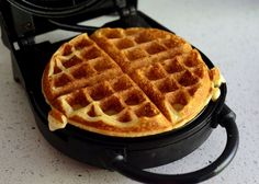 Golden Brown Belgian Waffle