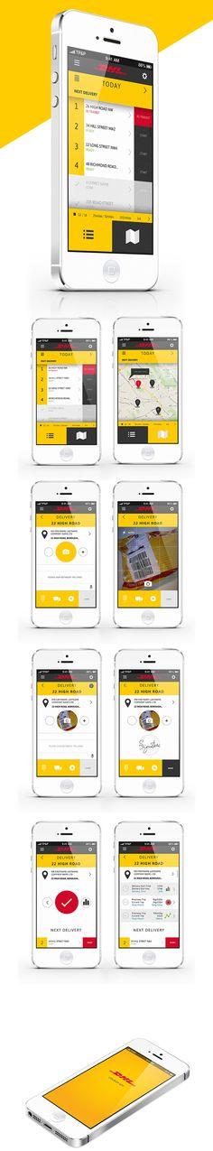 DHL Courier App - POC