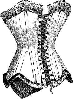 corset stamp.