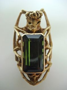 my second engagement ring by Mielle Harvey: Beetle Engagement Ring II, 2011